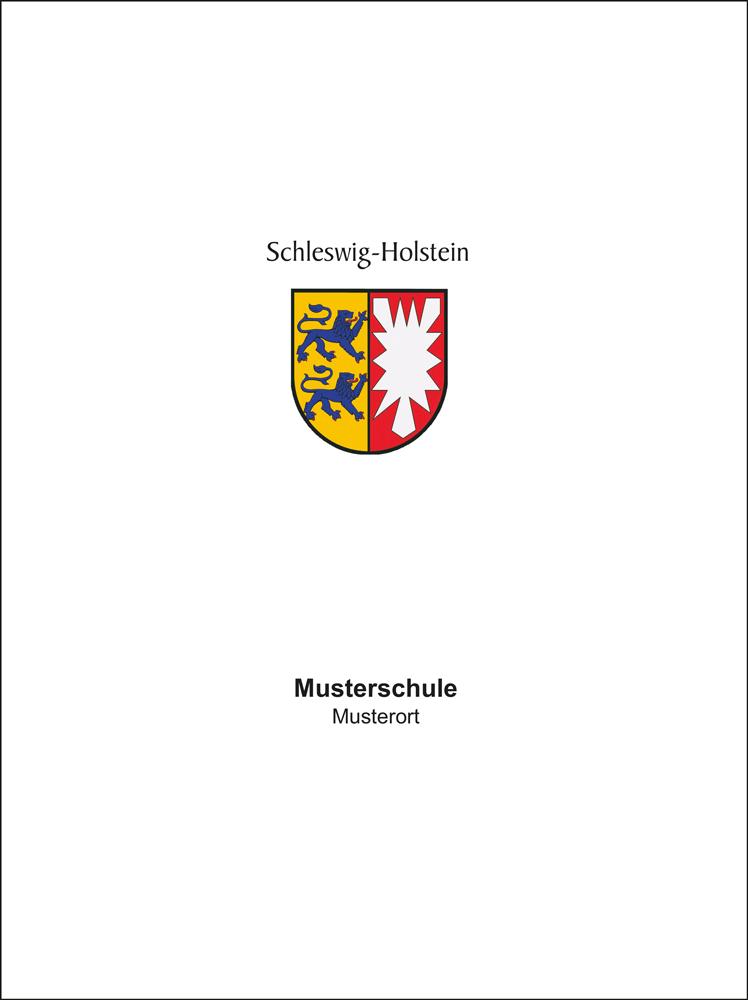 Zeugnisuberreichungsmappe Mit Wappen Schleswig Holstein Kaufen